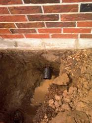 new abs outlet will fix your septic or drainage problem