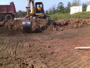 Excavating Subgrade