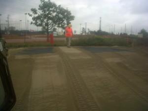 Burying Landscape Cloth Under Topsoil